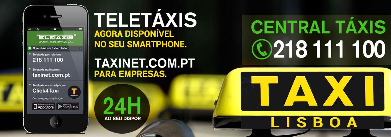 Teletáxis Cooperativa de Serviços CRL Header
